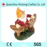 Statue di Gnome della resina per la decorazione del giardino