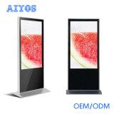 """LCDのマルチ対話型のタッチ画面のデジタル1つのキオスクの50 """" 55 """"アンドロイドすべて"""