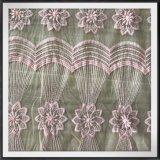 花の網の刺繍のレースポリエステル刺繍のレース