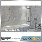 плитка стены толщиного Carrara кирпича 1cm белая мраморный нутряная декоративная
