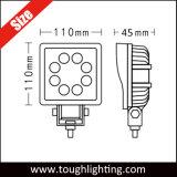 12V IP67 водонепроницаемый 4 дюйма 24Вт Epistar светодиодный светильник для работы погрузчика тракторов