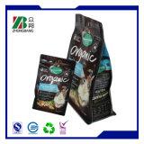 Sac en plastique pour emballage alimentaire avec fermeture à glissière