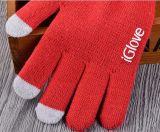 多彩なタッチ画面の柔らかさによって編まれるアクリルの接触手袋
