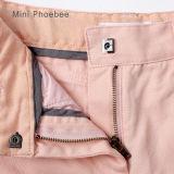 El algodón flaco 100% del color de rosa de Phoebee embroma la ropa en venta