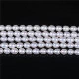 AAA 8-9мм риса форму пресноводных Pearl ослабление валики для принятия решений браслет цепочка