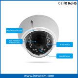 Водоустойчивая автоматическая камера IP купола Poe фокуса 4MP