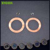 Etiqueta de animal Active RFID Transponder Bobina indutivo com cob