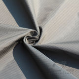 água de 50d 290t & da forma do revestimento do poliéster listrado do jacquard para baixo revestimento Vento-Resistente tela 100% Cationic tecida do filamento do fio (X025M)