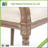 Großhandelsmitten-Rückseiten-Ausbreiten-Büro-Stuhl mit hölzernem Material (Judy)