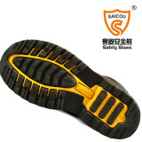 Usine extérieure en cuir Sc-8826 de chaussures de chaussures de sûreté de Goodyear Welted de vache