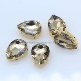 K9 naait het Kristal van het Glas op de Bergkristallen van het Kristal met Klauw voor Schoenen (sW-Daling 13*18mm)