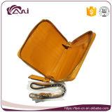 Повелительницы кожаный бумажник Fani, изготовление бумажника женщин, изготовленный на заказ бумажник