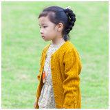 100% قطن ليّنة صفراء جدي ملابس لأنّ بنات