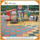 Gleitschutzsicherheits-Gummifliese-Fußboden-Gummiblatt für Kind-Spielplatz