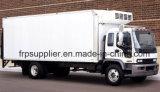 """Panneau """"sandwich"""" de polyuréthane d'unité centrale de /FRP de fibre de verre, panneau """"sandwich"""" frigorifié du corps FRP de camion"""