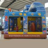 Doação de Brinquedos de equipamento de parque de diversões da almofada insuflável Ocean Park Combo (AQ01581)