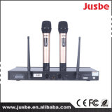 Étape professionnelle de système de PA de fréquence ultra-haute de 2 ch chantant le microphone sans fil