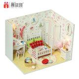 Mini casa de muñeca simple a mano
