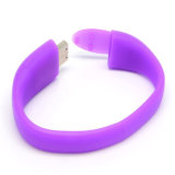 2016 Hot Sale Gift Custom PVC USB Flash Drive Bracelet