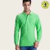 安い人のポロの広州の長い袖のTシャツの製造者