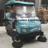 Máquina industrial da vassoura de rua da máquina da limpeza do grande tamanho