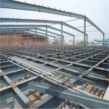 Pakhuis van de Grote die Spanwijdte van de Structuur van het staal het Prefab met Spanwijdte Met lange levensuur wordt afgeworpen