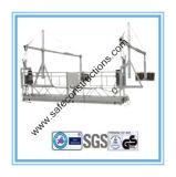 Berceau suspendu en aluminium sécurisé pour la construction