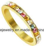 De Ring van de Vinger van de Steen van het Roestvrij staal van de Juwelen van de Manier van Shineme