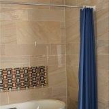 Tenda di acquazzone impermeabile solida della stanza da bagno del poliestere per l'hotel (04S0048)