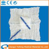 Il giro candeggiato pulisce la stringa con una spugna rilevabile dell'azzurro dei filetti dei raggi X