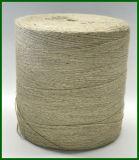 Filato bianco naturale della moquette della iuta