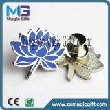 Kundenspezifische Reverspin-Hersteller China, Firmenzeichen Debossed weicher Decklack-ReversPin