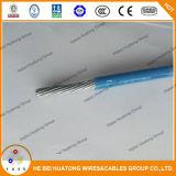 Fio isolado e nylon Sheathed Thhn de alumínio 4/0AWG do PVC do fio de Thhn Thwn Thnn da construção