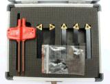 Trousse d'outils de rotation de carbure indexable de taille de pouce 5PC de Cutoutil 4+1