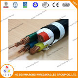 Câble électrique à basse tension isolé et gainé de PVC