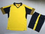 Fútbol modificado para requisitos particulares Jersey de la manera hecha en China