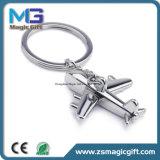 Großhandelspreis-förderndes Metall 3D flaches Keychain, Schlüsselkette, Schlüsselring für Werbegeschenk-Geschenk