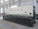 Le cisaillement de la guillotine hydraulique machine à l'acier de 6 m de la plaque de cisaillement (QC11Y-8X6000)
