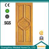 Mahogany внешняя дверь твердой древесины верхнего сегмента