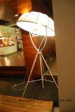 Простые утюг и ткань черный напольный светильник для проектов