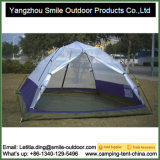Barraca Rainproof de acampamento exótica da pessoa da camada dobro 3-4 de borne de comando