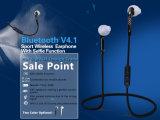 De draadloze Handsfree Halsband van de Oortelefoons van Bluetooth van de Sport met Microfoon