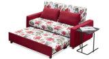 Кровать софы ткани способа функциональная с подлокотником