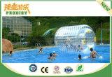 Bola de Zorb del agua inflable de las bolas del agua que recorre para el parque del agua