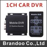 Câmera analógica de contato autônomo autônomo 1CH Mini CCTV DVR para veículo de táxi