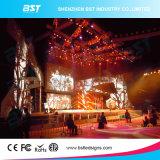 Super Slim P5 de alquiler en el interior de la pantalla LED para el concierto mostrar
