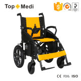 Sedia a rotelle automatizzata poggiapiedi staccabile di energia elettrica di Topmedi