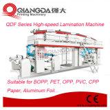 Maquinaria de alta velocidad Error-Correction fotoeléctrica de la laminación del papel de aluminio de la serie de Qdf