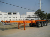 40 Feet 3axles Tanker Chassis Semi - Trailer