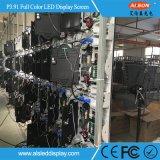 Tela Rental cheia magro super Display&#160 do diodo emissor de luz da cor P3.91 250*250mm;